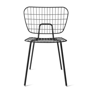 WM STRING DINING CHAIR - BLACK