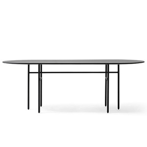 SNAREGADE DINING TABLE OVAL - BLACK (재고 문의)