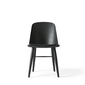 SYNNES DINING CHAIR, SILK - BLACK ASH / BLACK