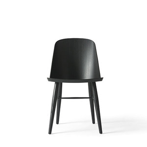 SYNNES DINING CHAIR - BLACK ASH
