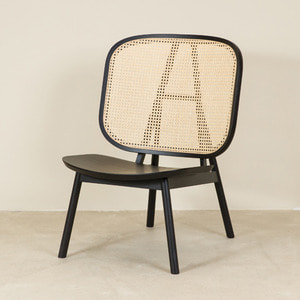 CANE COLLECTION LOUNGE CHAIR - BLACK (*DP상품 30%)