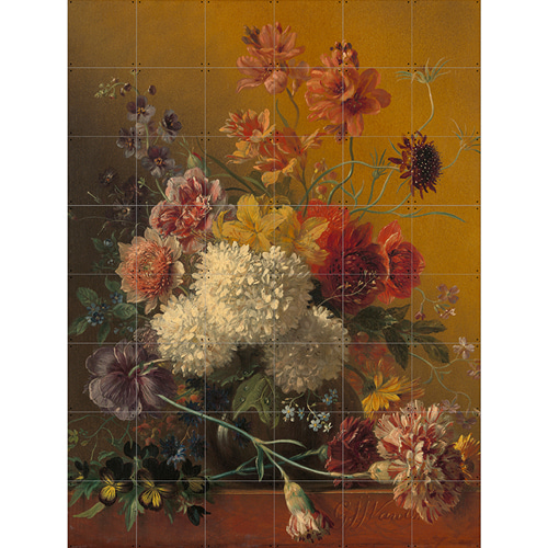 STILL LIFE WITH FLOWERS - VAN OS (2 SIZES)