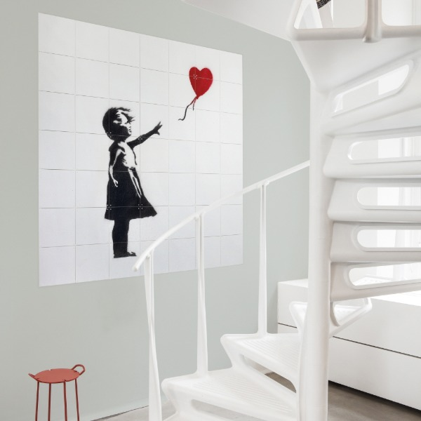 GIRL WITH A BALLOON - BANKSY