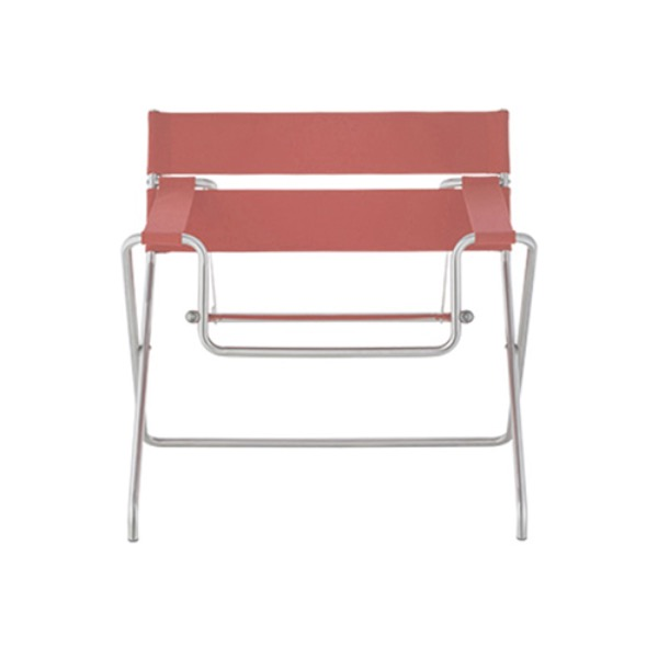 D4 BAUHAUS CHAIR - PINK / LEATHER 2 (해외오더)