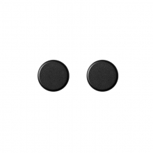 KNOBS BLACK (SET OF 2)