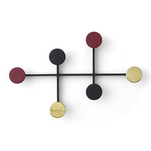 AFTEROOM COAT HANGER - BLACK/BRASS