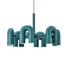 CIRKUS CHANDELIER LARGE - GREEN