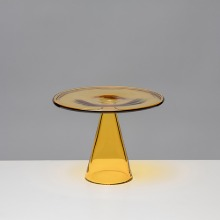 GLASS PLATE - YELLOW