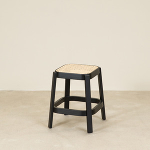CANE COLLECTION LOW STOOL (O LEG) (6 COLORS)