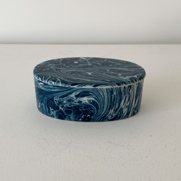CERAMIC CASE SMALL - PRUSSIAN BLUE