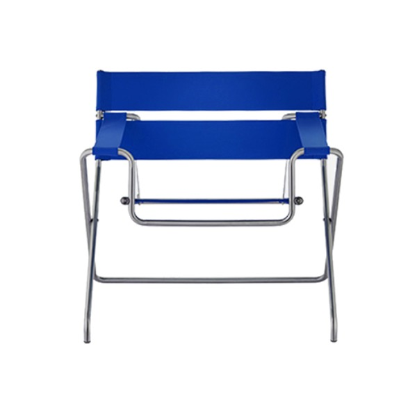 D4 BAUHAUS CHAIR -  BAUHAUS STRAP / BLUE (OUTDOOR FABRIC) (바로배송)