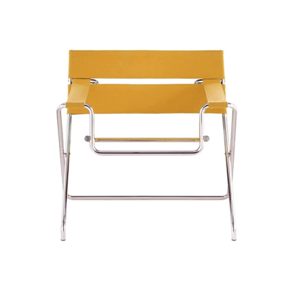 D4 BAUHAUS CHAIR - BAUHAUS STRAP / YELLOW (OUTDOOR FABRIC)