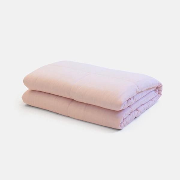 EXTRASOFT COMFORTER 5 - LIGHT PINK (일상직물 차렵이불)
