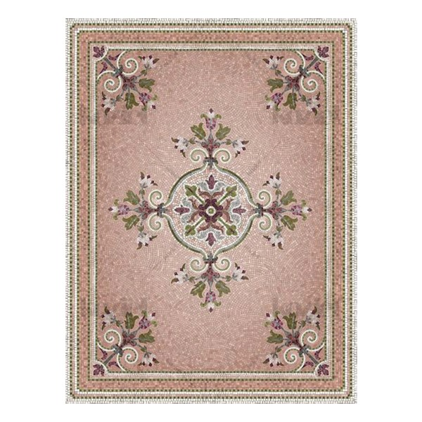 MOSAIC RUG FLORA - WIDE SIZE
