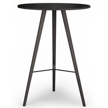 BEAVER BAR TABLE - BLACK STAINED OAK (디스플레이 상품)