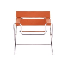 D4 BAUHAUS CHAIR -  BAUHAUS STRAP / ORANGE (OUTDOOR FABRIC)