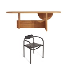 [PROMOTION] TECTA LOT TABLE (FIXED) + SPLIT CHAIR (4EA)